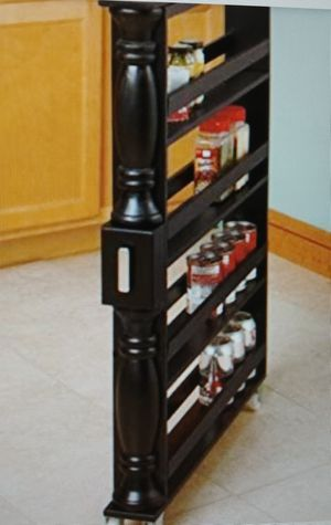 Spice Rack Rolling Kitchen Organizer NEW for Sale in NO POTOMAC, MD
