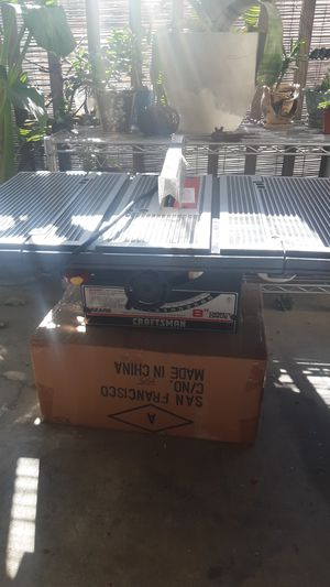 Craftsmen 8in table saw. for Sale in Castro Valley, CA