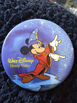 Walt Disney Fantasia button for Sale in GLMN HOT SPGS, CA