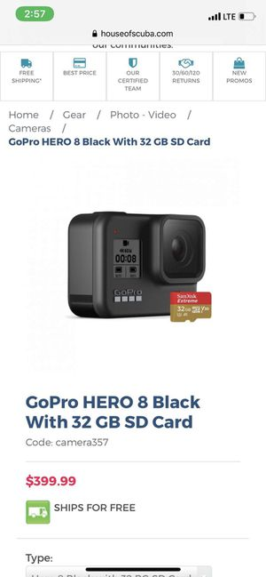 GoPRO Hero 8 BLACK for Sale in Salem, OR