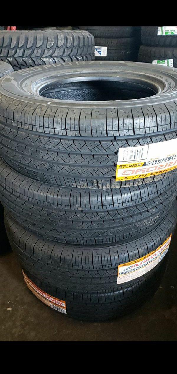 265 70 17 LT 10 ply tires $430