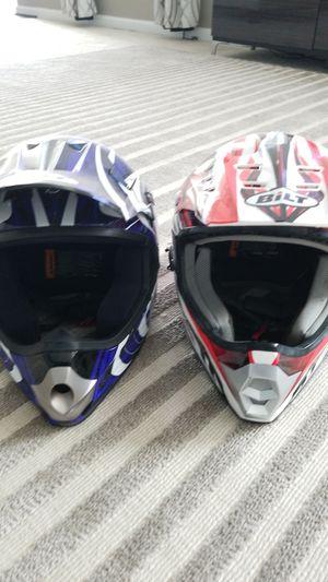 Bilt dirt bike helmets for Sale in White Plains, MD