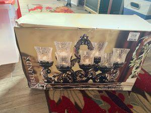 Kirklands candle holder runner for Sale in Oldsmar, FL