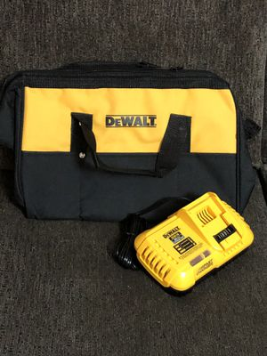 "DeWalt FAST Charger & 13"" Tool Bag 🚨Both for $45 for Sale in Azusa, CA"