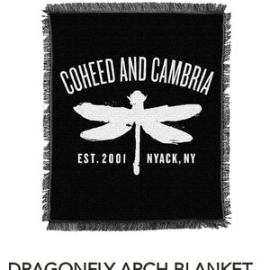 Coheed And Cambria Dragonfly Blanket for Sale in Chandler, AZ