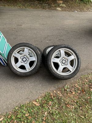 Corvette rims and brand new run flat tires for Sale in New London, CT