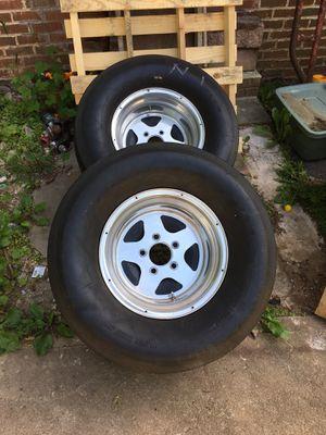 Drag race wheels 5 lug 5x5 for Sale in Manassas, VA