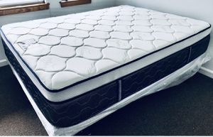 "QUEEN SIZE MATTRESS PILLOW TOP ORTHOPEDIC MIDIUM FIRM 14""BRAND NEW DELIVERY AVAILABLE. We finance for Sale in North Smithfield, RI"