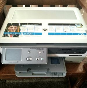 HP Photosmart C8180 All-in-One Color Inkjet Printer w/Built-in CD/DVD Drive for Sale in Plainfield, IL