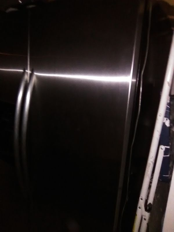 Refrigerator In Stainless Steel Doors, Buy Today!
