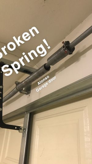Garage door Springs !!!!! Resortes puerta de Garage!!! for Sale in Riverside, CA