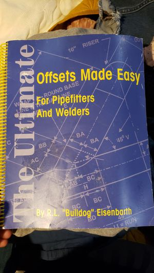 Pipfitter offset book in great condition for Sale in Inglewood, CA