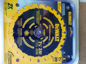 "5 pack of 7 1/4"" saw blade - new for Sale in Redmond, WA"