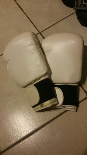 White boxing gloves for Sale in Baton Rouge, LA