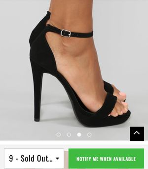Brand new FashionNova Heels Size 9 for Sale in Chino, CA