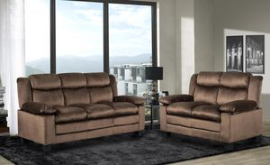 Chocolate #Sofa and #Loveseat *BLOWOUT - FREE DELIVERY* for Sale in Colesville, MD