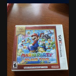 Nintendo Selects: Mario Party: Island Tour For 3DS Very for Sale in Laveen Village, AZ