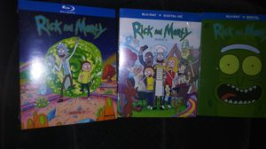 Rick & Morty season 1-3 for Sale in South Gate, CA