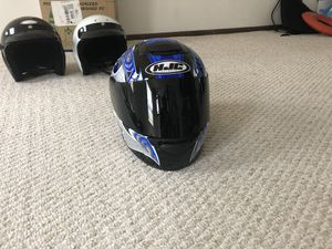 Motor bike helmets for Sale for Sale in Columbus, OH