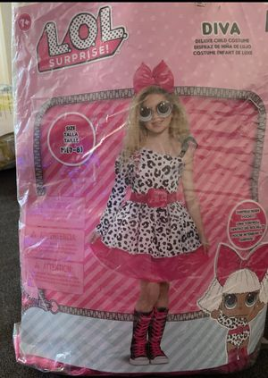 Girls Diva Costume DeluxeL.O.L. Surprise for Sale in Los Angeles, CA
