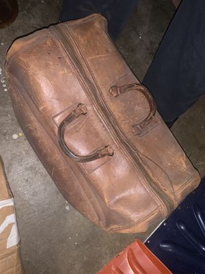 Antique Leather Suitcase for Sale in Washington, DC