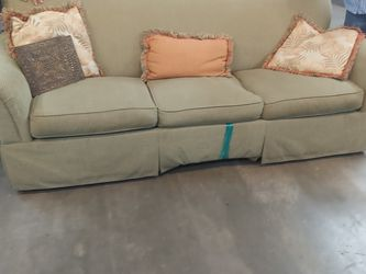 3 Cushion Sleeper Sofa Queen Accent Pillows for Sale in St. Cloud,  FL