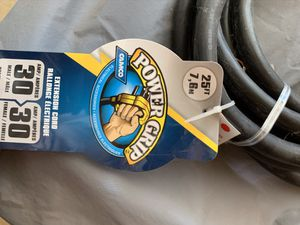 RV 30 amp shore power cord for Sale in Raleigh, NC