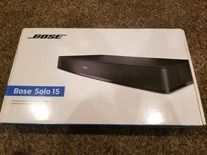 Bose Solo 15 TV surround sound system for Sale in Upper Marlboro, MD