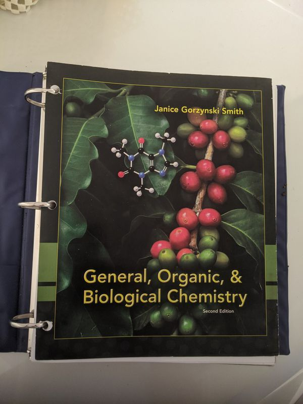 General, Organic, Biochemistry book