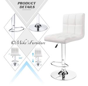 Brand new 1 white bar stools (shipping is available) for Sale in Orlando, FL