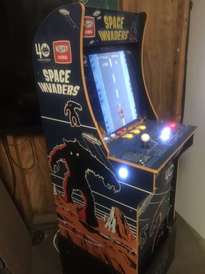 Custom Space Invaders Arcade1up with Riser for Sale in Southampton Township, NJ