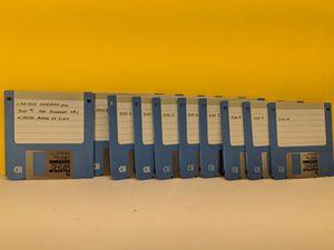 Labtech Notebook Pro - 10 Floppy Discs Program Set for Sale in Arlington Heights, IL