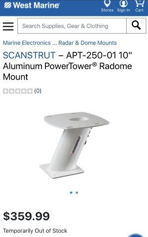 "Scan Strut 10"" Radar Mount for Sale in Miami, FL"