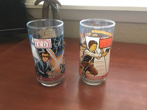 Star Wars collectible glasses for Sale in Las Vegas, NV