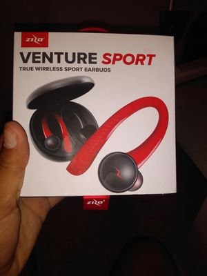 BLK AND RED VENTURE SPORT TRUE WIRELESS SPORT EARBUDS for Sale in San Antonio, TX