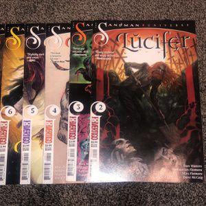 lucifer comics 2.3,4,5,6,7,8,10,11,12 for Sale in Rocky Point, NY