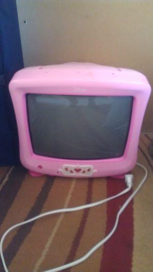 Pink Walt Disney Tube style girls tv for Sale in Cheney, KS