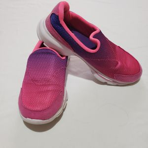 Athletic Works Memory Foam Purple Pink Slip On Sneakers for Sale in Laredo, TX