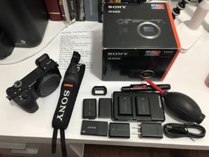 """Sony Alpha a6500 Mirrorless Digital Camera w/ 2.95"""" LCD (Body Only) for Sale in New York, NY"""