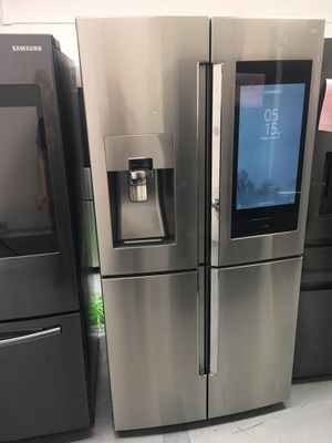 FREE LOCAL DELIVERY! SAMSUNG FAMILY HUB SMARTFRIDGE w/DOUBLE FRENCH DOORS, FLEX ZONE ADJUSTABLE TEMPERATURE COMPARTMENT & BIXBY VOICE ASSIST for Sale in Westminster, CA