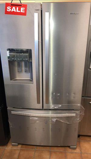 FIRST COME!!CONTACT TODAY! Refrigerator Fridge Whirlpool French Door 3-Door #1486 800 for Sale in NJ, US
