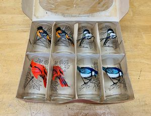 8 Piece Vintage Anchor Hocking Gift Collection Glasses for Sale in Stockton, CA