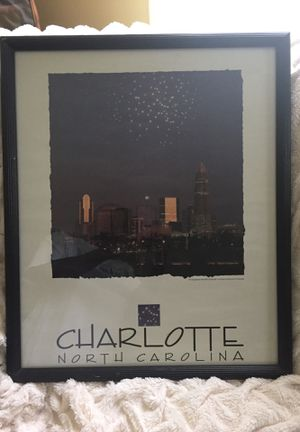 Framed print of Charlotte for Sale in Charlotte, NC