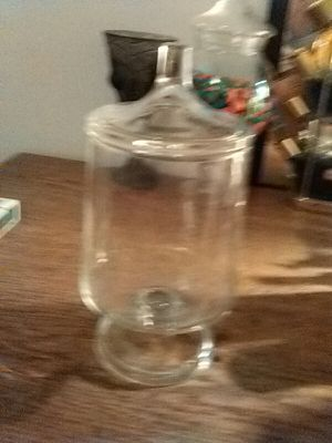 Antique pharmacy glass container for Sale in St. Louis, MO
