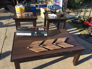 Coffee table and 2 side tables for Sale in Oakley, CA