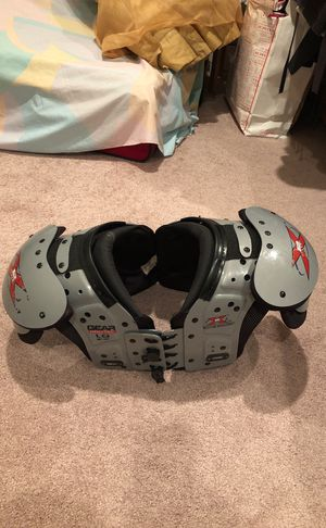 Football shoulder pads for Sale in Seattle, WA