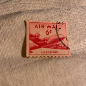 Rare 6 Cent Air Mail Stamp for Sale in Lake Forest, IL