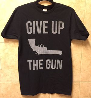 Give up the gun T-shirt size medium brand new for Sale for sale  Brooklyn, NY