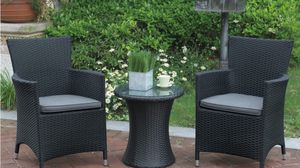 Outdoor Furniture 3pc set $299.00 for Sale in Hialeah, FL