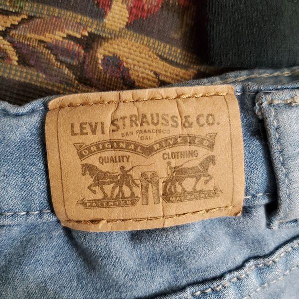 Girls LEVIS Jean Shorts Size 12 Regular